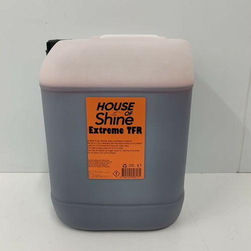 House Of Shine 20 Litres TFR Concentrated Traffic Film Remover NEEDS MIXED!