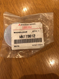 Genuine Mitsubishi Outlander Crankshaft Pulley Washer MN119812