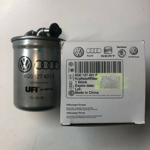 GENUINE AUDI DIESEL FUEL FILTER 6Q0127401F