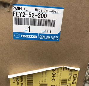 Genuine MAZDA RX-8 2003 LA-SE3P Left Fender Panel FEY252200 Brand New
