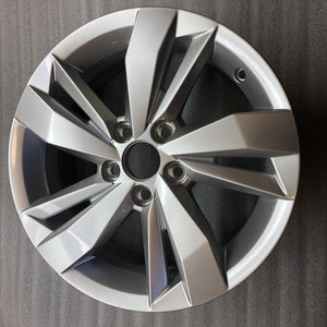 Wheel Original VolksWagen POLO 15 Silver 2G0601025N R Line single