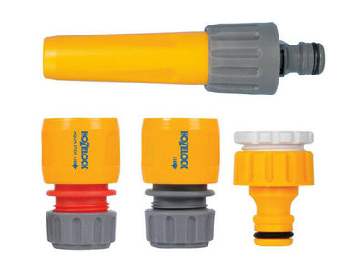 4 piece HOZELOCK Hose Pipe Connector Set, watering accessories - FREE P&P