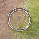 Hidden Message Bangle Set of Tw Sterling Silver