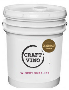 Pails 6 Galons 100% Chadornay - CraftVino