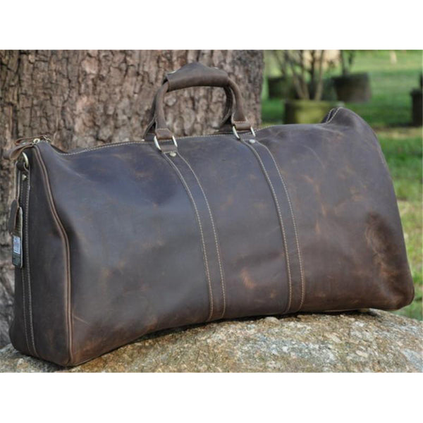 Sydney Leather Duffle Bag