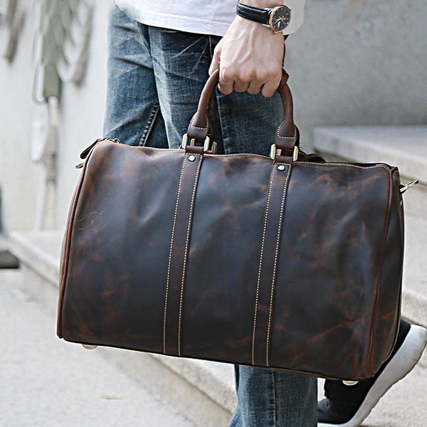 Oscar Leather Duffle Bag