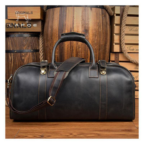 Alex Leather Duffle Bag
