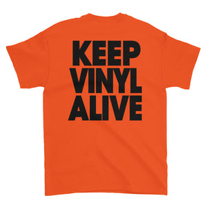 "Cue's Records ""Keep Vinyl Alive"" Classic T-Shirt"
