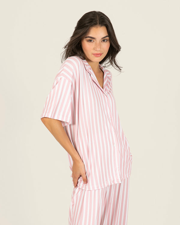 Pink Stripes Set