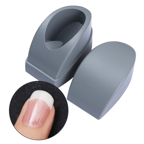 1 Pc Plastic French Dip Manicure Tool