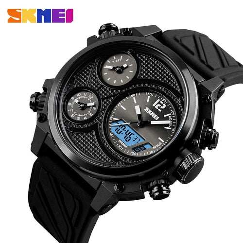 5 Time Alarm Military Waterproof Chronograph