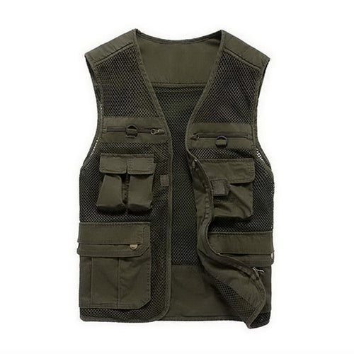 Quick Dry Multi-Pocketed Fishing Vest