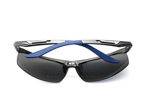 UV400 Polarized Mens Aluminum Retro Sunglasses