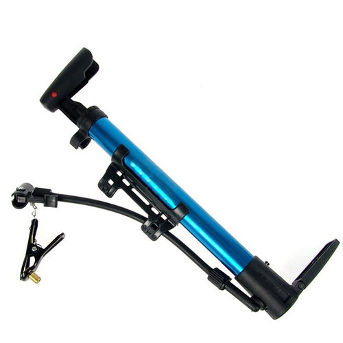 'Steel Blue' Cycle Pump with Clamp