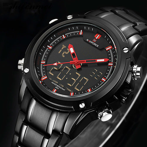 Military LED Waterproof Sport Timepiece