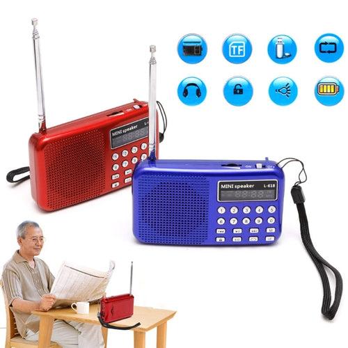 FM Radio with Speaker, USB, Micro SD Slot and MP3 Player