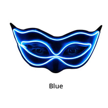 Load image into Gallery viewer, LED Masquerade Half Mask