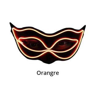 LED Masquerade Half Mask