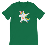 Dabbing Bitcoin Unicorn T-shirt