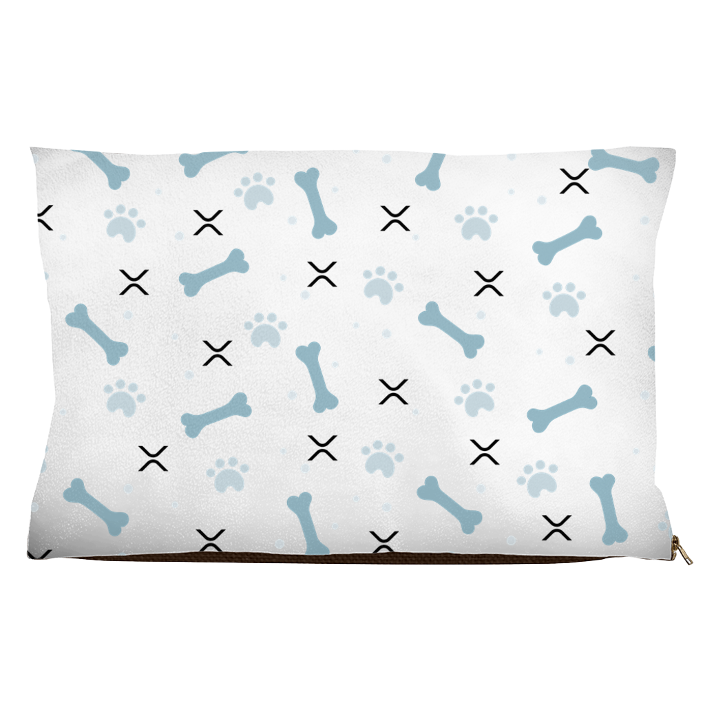 Bones and XRP Dog Bed