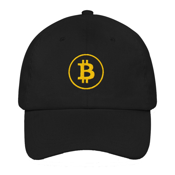 Bitcoin Simple Logo Classic Hat