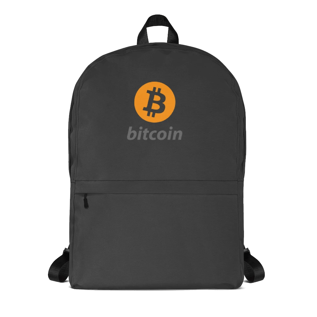 Bitcoin Backpack w/ Laptop Compartment