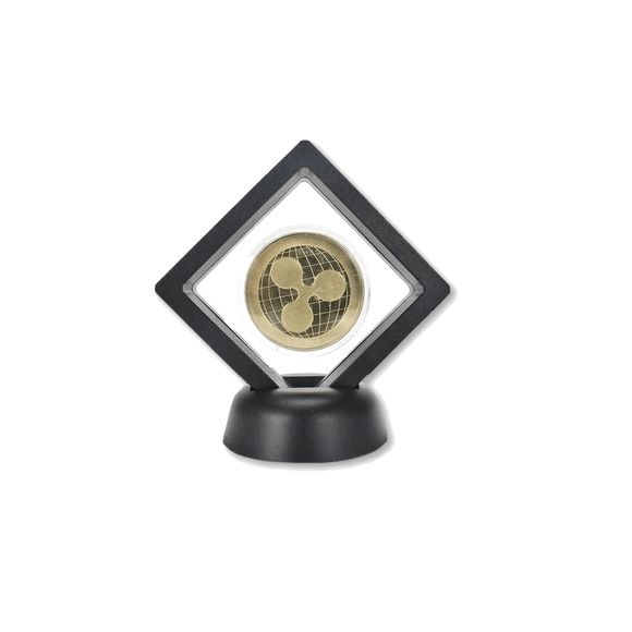 Ripple Commemorative Coin with Modern Stand