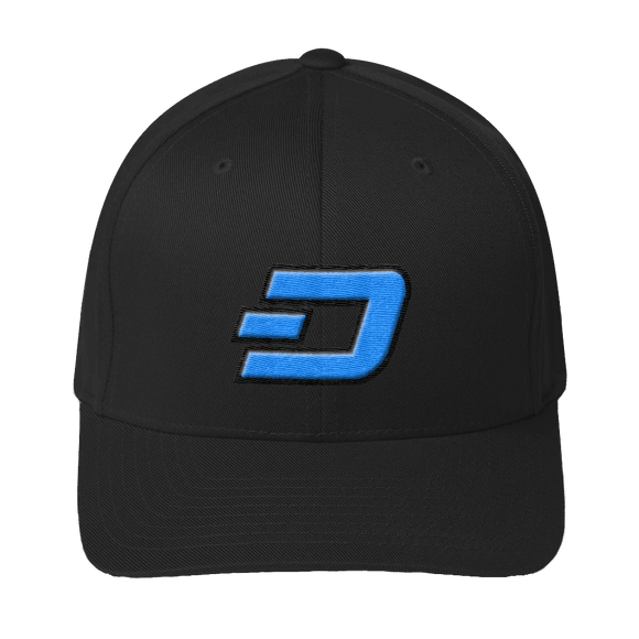 DASH Logo 3D-Puff Embroidered Structured Twill Cap