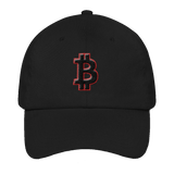 Bitcoin Logo 3D-Puff Embroidered Unstructured Classic Cap