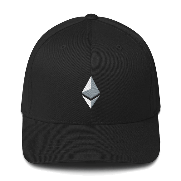 Ethereum Logo Structured Twill Cap