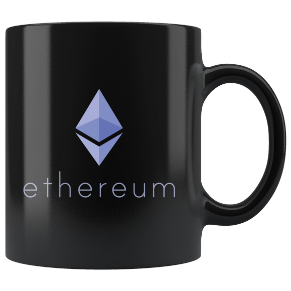 Ethereum Mug: Black