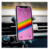 Ethereum Car Phone Mount and Wireless Charger