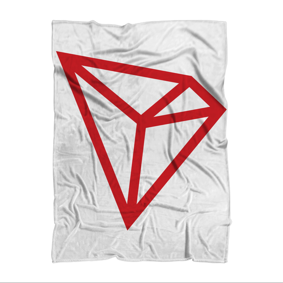 TRON [TRX]: Logo Sublimation Adult Blanket