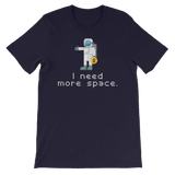 """I Need More Space"" Bitcoin Astronaut T-shirt"