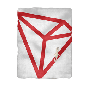 TRON [TRX]: Logo Sublimation Baby Blanket