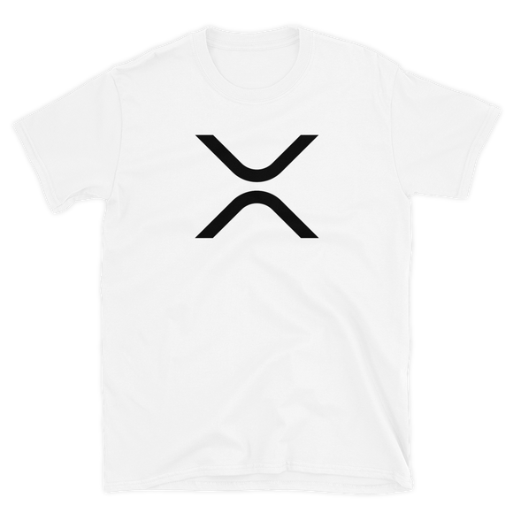 XRP Short-Sleeve T-Shirt: Black Logo