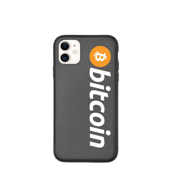 Biodegradable Bitcoin iPhone Case