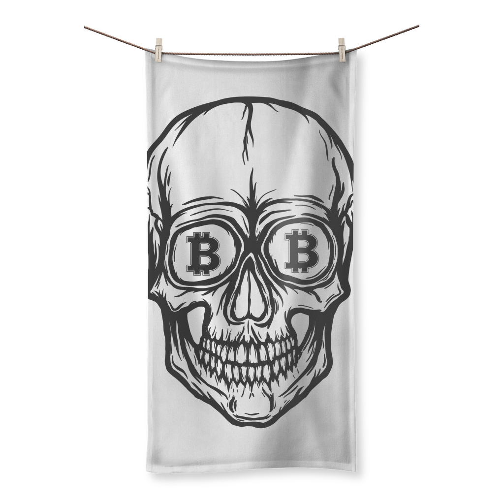 Bitcoin Vision Sublimation All Over Towel