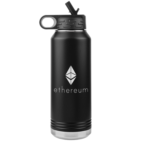 Image of Ethereum Stainless Steel Water Bottle