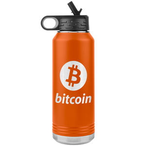 Bitcoin Stainless Steel Water Bottle