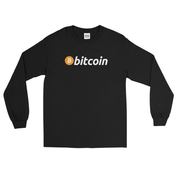 Classic Bitcoin Long Sleeve Shirt