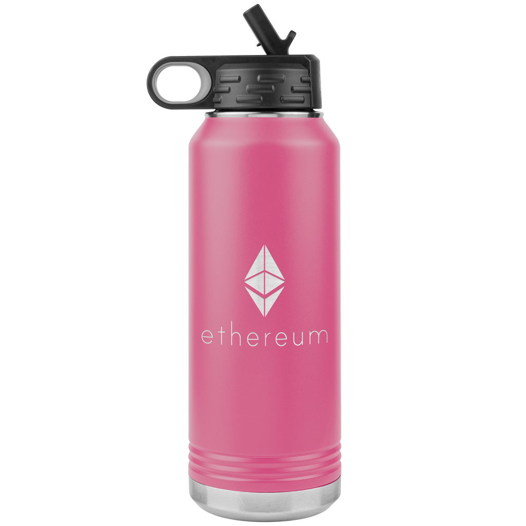 Ethereum Stainless Steel Water Bottle
