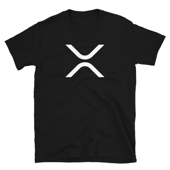 XRP Short-Sleeve T-Shirt: White Logo