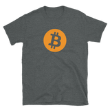 Bitcoin BTC Short-Sleeve T-Shirt: Logo