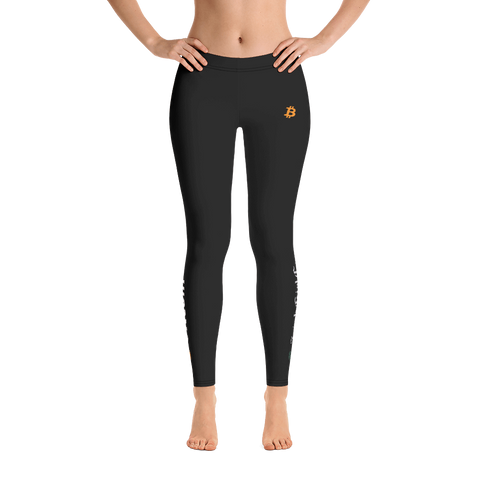 Image of Bitcoin Leggings: IrishGirlCrypto Limited Edition