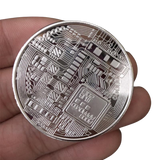 24K-Gold-Plated Bitcoin Collectible