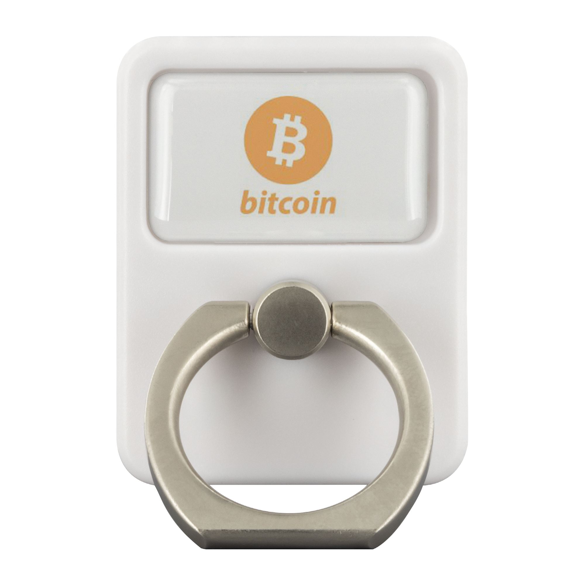 Bitcoin 3-in-1 360° Cell Phone Finger Ring Holder and Stand