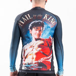 Mens Rash Guard Long Sleeve Army of Darkness Back