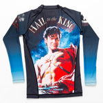 ADULTS Army of Darkness Hail to the King Rash Guard - Long Sleeve