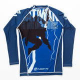 ADULTS Batman The Dark Knight Returns Rash Guard - Long Sleeve